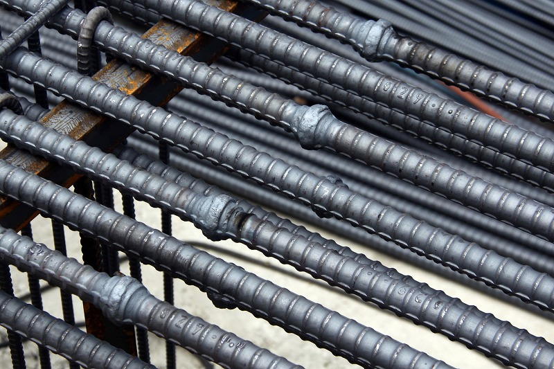 Rebar press welding